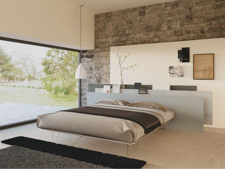 Letti Sospesi Design Moderno : Esempi di letti sospesi dal design moderno mondodesign