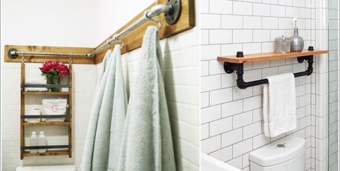 15 Idee Creative per Riciclare Tubi Idraulici e Arredare Casa