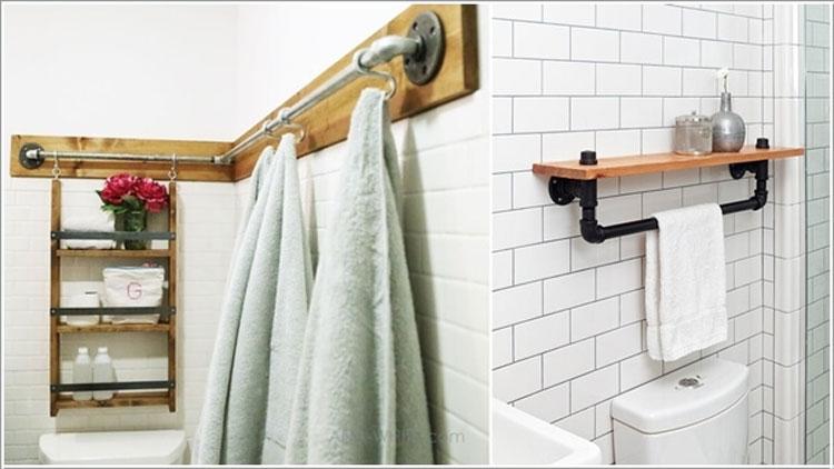 Top 15 Idee Creative per Riciclare Tubi Idraulici e Arredare Casa  TF49