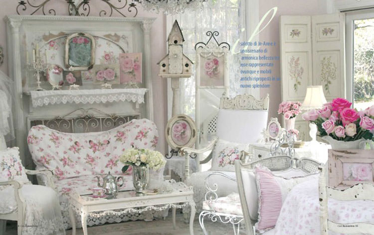 Awesome Soggiorni Shabby Chic Pictures - Design Trends 2017 ...