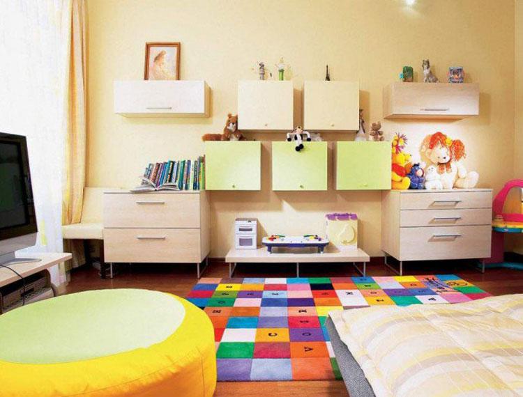 Tappeto colorato per la cameretta dei bambini n.04