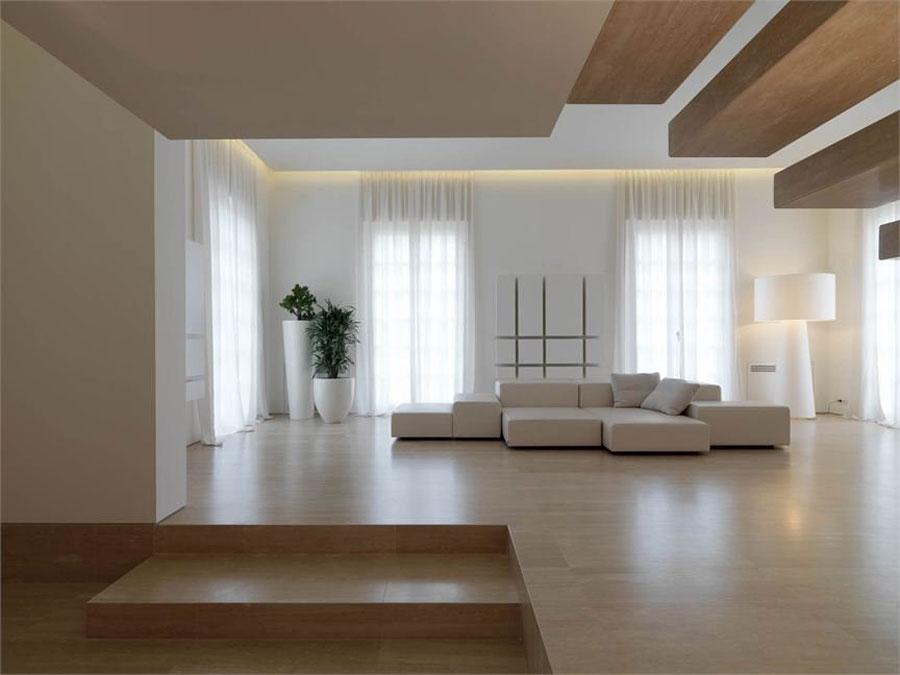 35 spettacolari esempi di arredamento minimalista di for Arredamento di design naturale