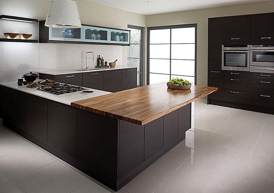 Modello di cucina a U moderna n.05
