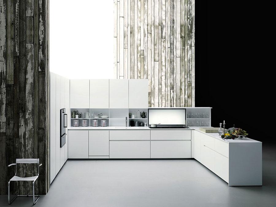 Modello di cucina a U moderna n.27