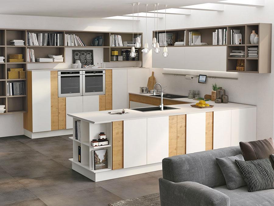 Modello di cucina a U moderna n.34