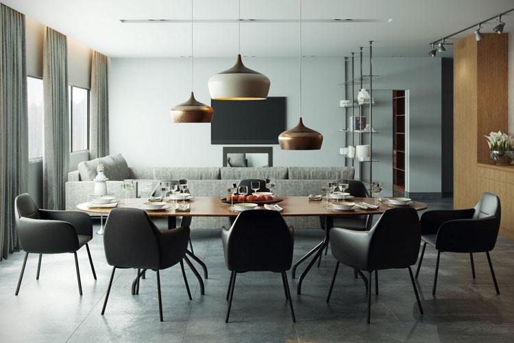 20 modelli di lampadari a sospensione di design