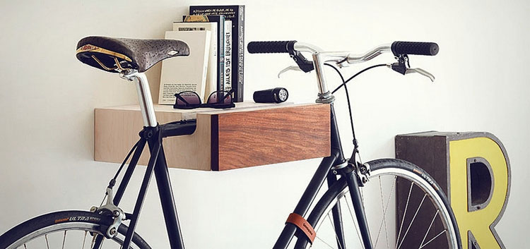 22 soluzioni creative per riciclare parti di biciclette. Black Bedroom Furniture Sets. Home Design Ideas