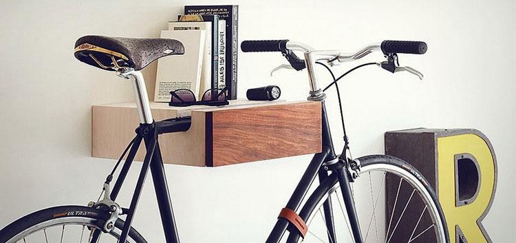 Mensola porta bicicletta