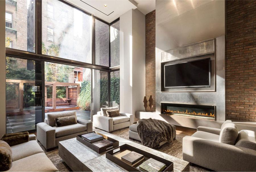 tv sopra il camino cosa sapere ed esempi pratici. Black Bedroom Furniture Sets. Home Design Ideas