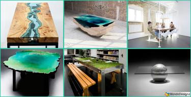 15 Tavoli e Tavolini dal Design Molto Particolare