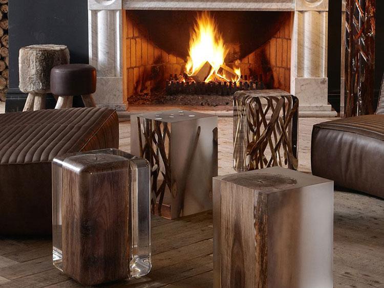 Immagine dei tavolini dal design particolare n.01