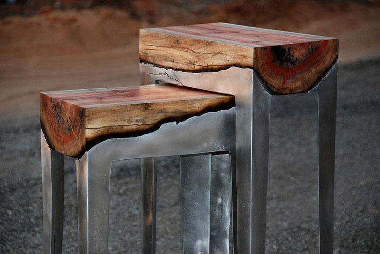 Immagine dei tavolini dal design particolare n.05