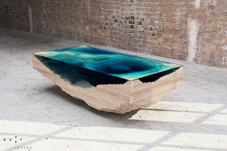 Immagine dei tavolini dal design particolare n.11