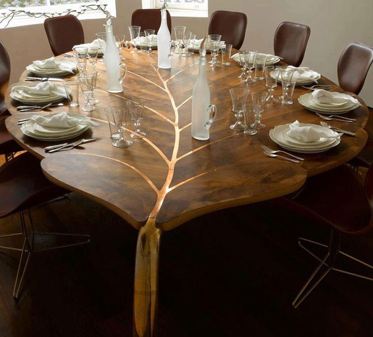Immagine dei tavolini dal design particolare n.12