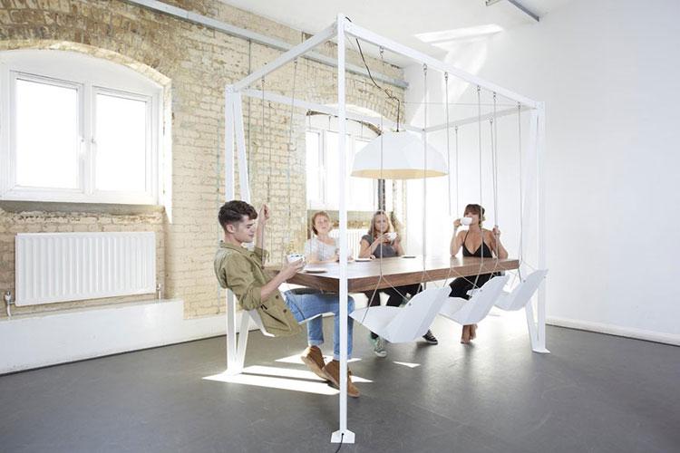 Immagine dei tavolini dal design particolare n.14