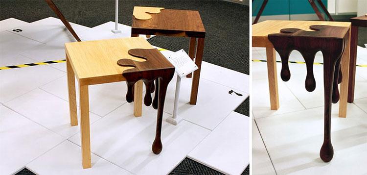 Immagine dei tavolini dal design particolare n.15