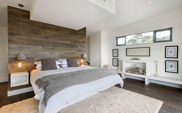Camera da letto romantica col grigio talpa n.18
