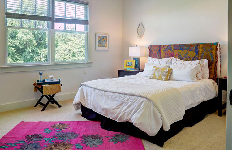 Camera da letto romantica col grigio talpa n.20