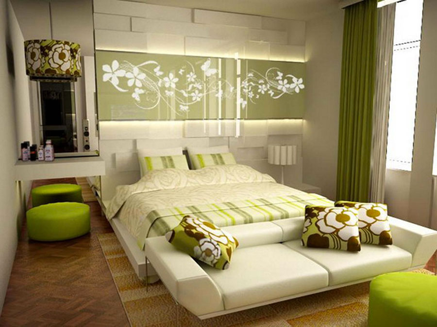 Modello di camera da letto Feng Shui n.05