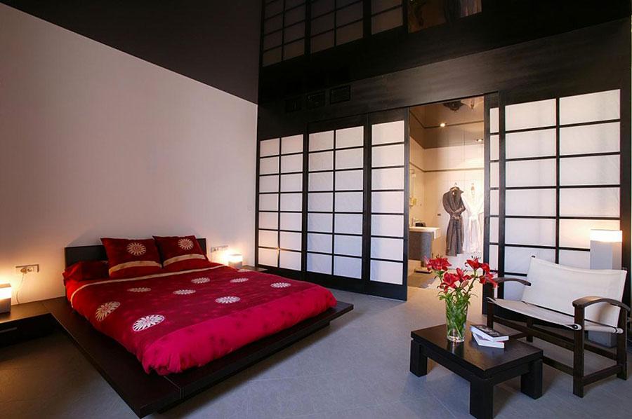 Modello di camera da letto Feng Shui n.06