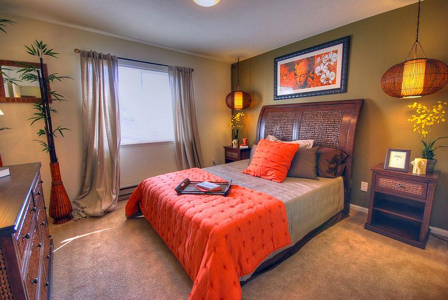 Modello di camera da letto Feng Shui n.07