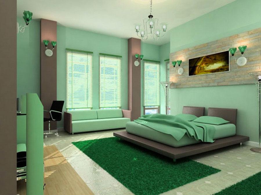 Modello di camera da letto Feng Shui n.08