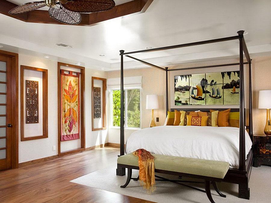 Modello di camera da letto Feng Shui n.10