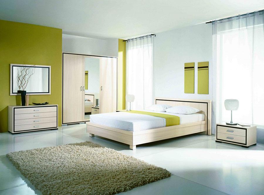 Modello di camera da letto Feng Shui n.11