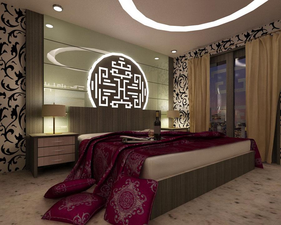 Modello di camera da letto Feng Shui n.13