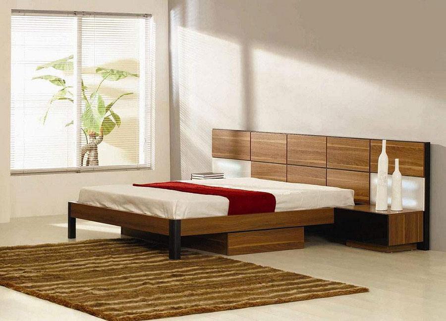 Modello di camera da letto Feng Shui n.14
