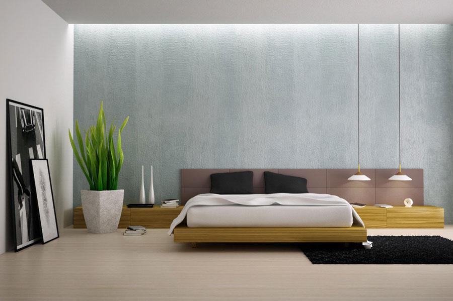 Modello di camera da letto Feng Shui n.16