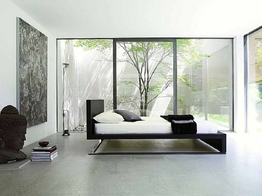 Modello di camera da letto Feng Shui n.17
