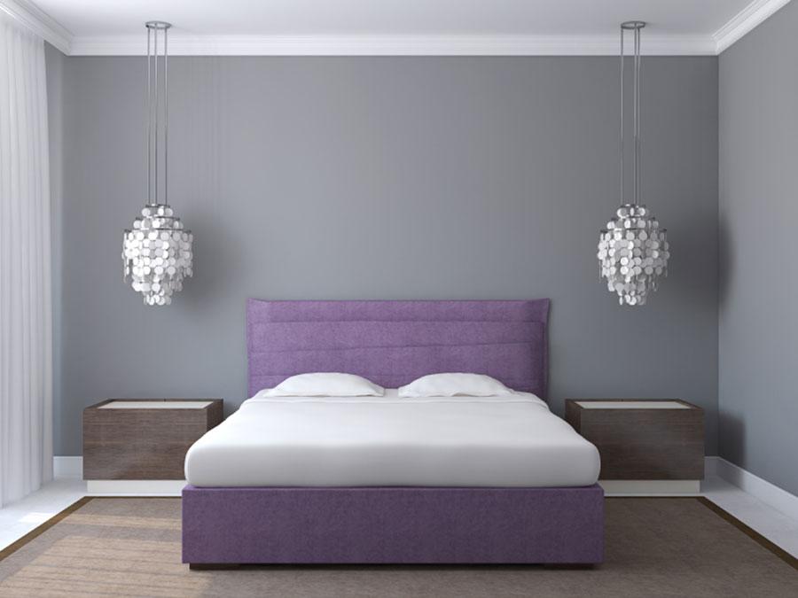Modello di camera da letto Feng Shui n.18