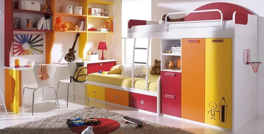 Letti A Castello Per Bambini Design.30 Modelli Di Letti A Castello Moderni Per Bambini E Ragazzi Mondodesign It