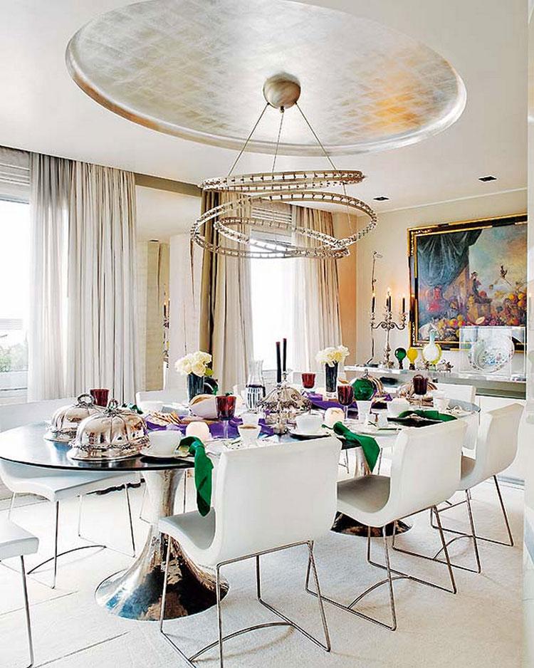 Lampadario per la sala da pranzo dal design spettacolare n.01