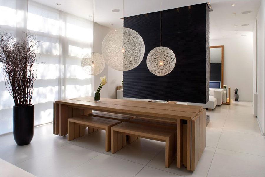 Lampadario per la sala da pranzo dal design spettacolare n.13