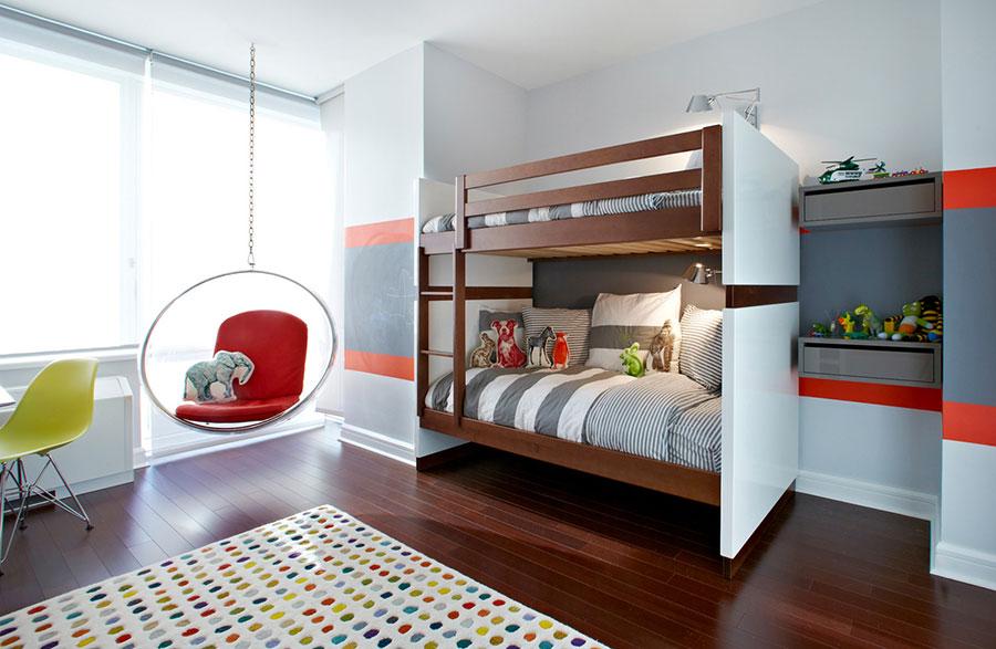 20 modelli di letti a castello moderni per bambini e ragazzi