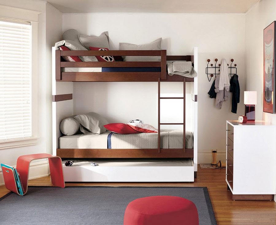 20 modelli di letti a castello moderni per bambini e for Letti moderni design