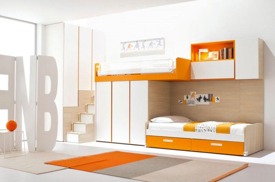 Letti a castello dal design moderno per bambini e ragazzi n.14