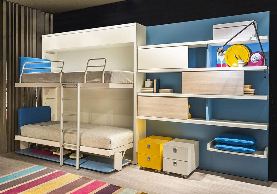 Letti a castello dal design moderno per bambini e ragazzi n.18