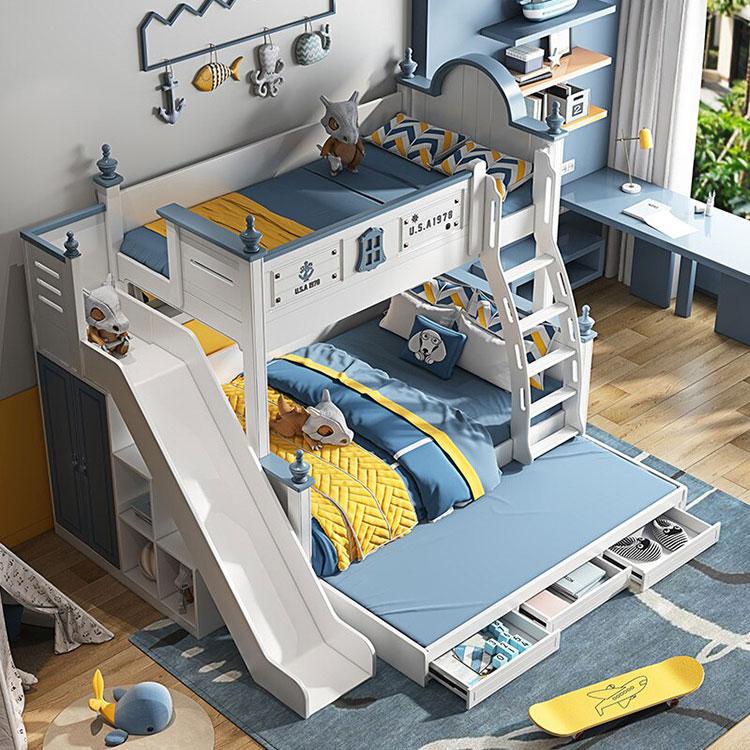 Letti a castello dal design moderno per bambini e ragazzi n.21