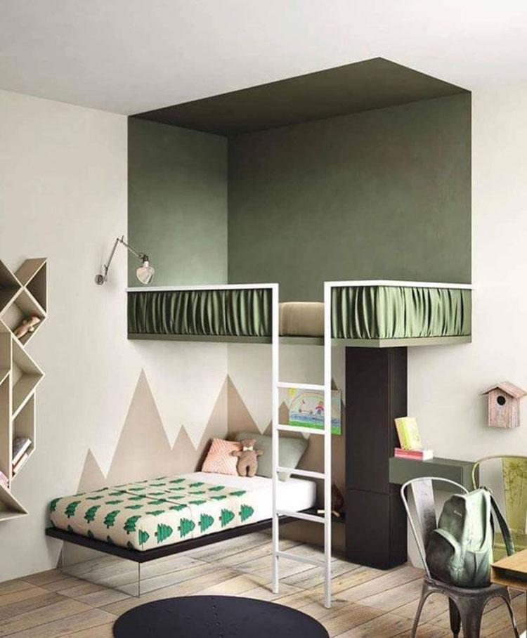 Letti a castello dal design moderno per bambini e ragazzi n.28