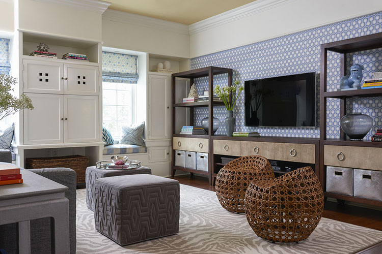 17 idee di arredamento d 39 interni con mobili in rattan - Arredamento interni ...
