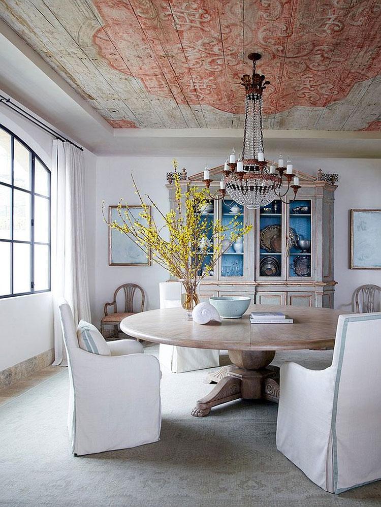 Idee per arredare la sala da pranzo in stile shabby chic n.14