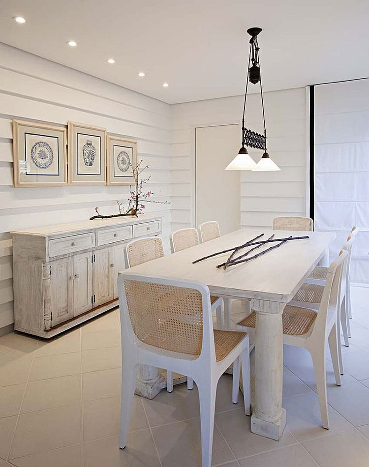 Sala Da Pranzo Shabby Moderno.30 Idee Per Arredare La Sala Da Pranzo Shabby Chic Mondodesign It