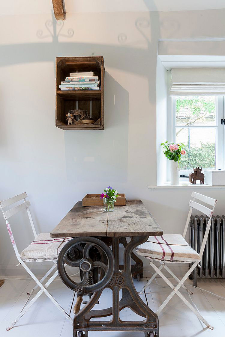 Idee per arredare la sala da pranzo in stile shabby chic n.22