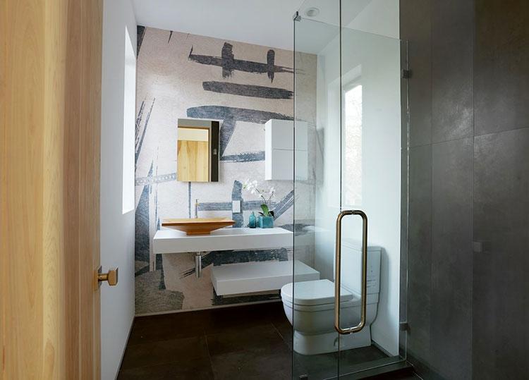 Idee di design per arredare piccoli bagni n.01