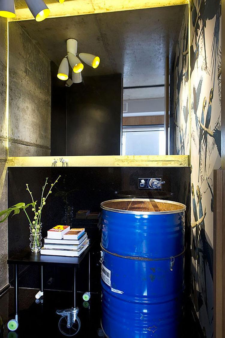 Idee di design per arredare piccoli bagni n.10