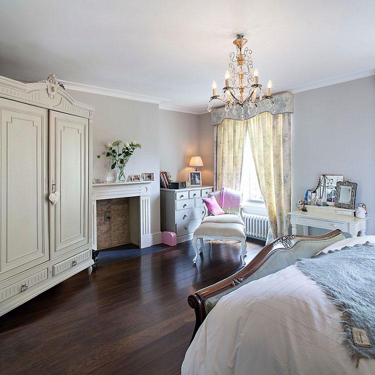 20 camere da letto in stile vittoriano - Camera da letto in stile ...