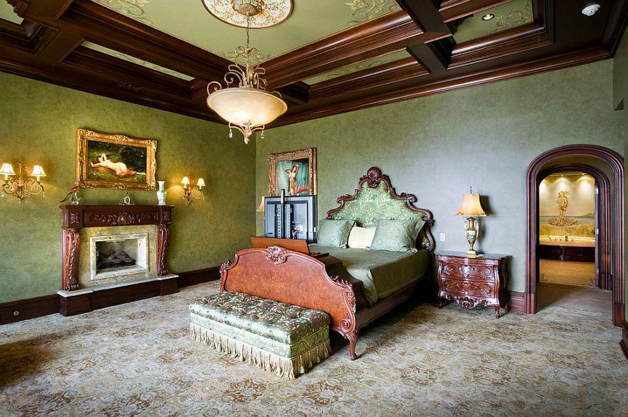 20 camere da letto in stile vittoriano